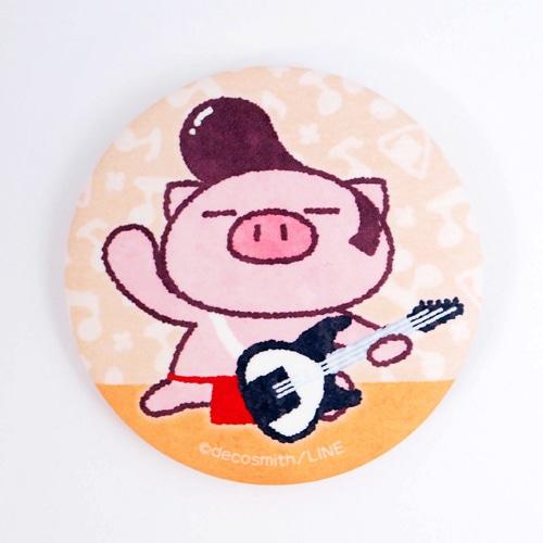 ぶたた・缶バッジ/ロック
