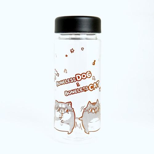 ボンレス犬&ボンレス猫・クリアボトル/300ml