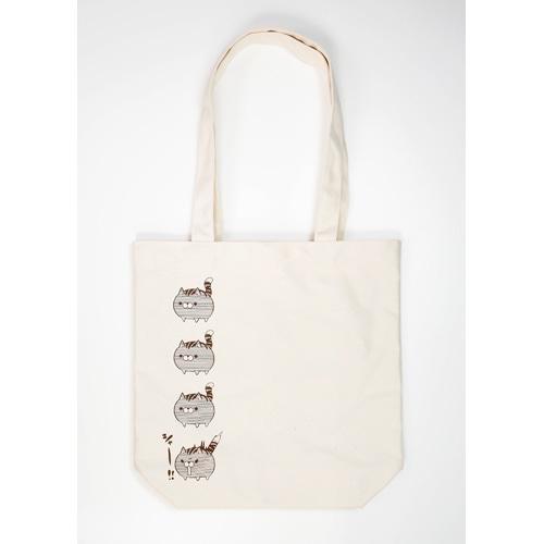 ボンレス犬&ボンレス猫・トートバッグ