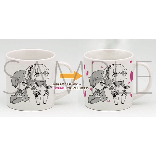 約束の桜マグカップ