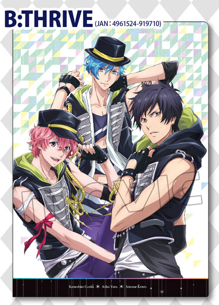 B-PROJECT クリアファイル B:THRIVE