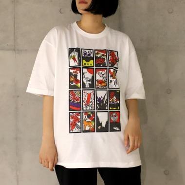 TシャツA 女性着用写真