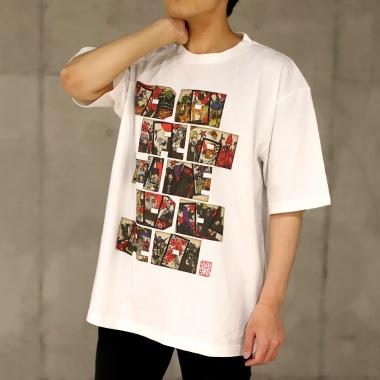TシャツB 男性着用写真