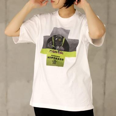 TシャツC 女性着用写真
