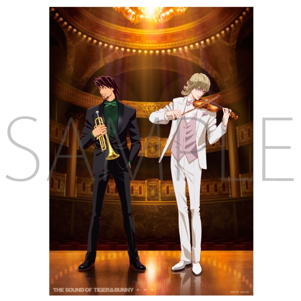 THE SOUND OF TIGER & BUNNY/クリアポスター(A3)